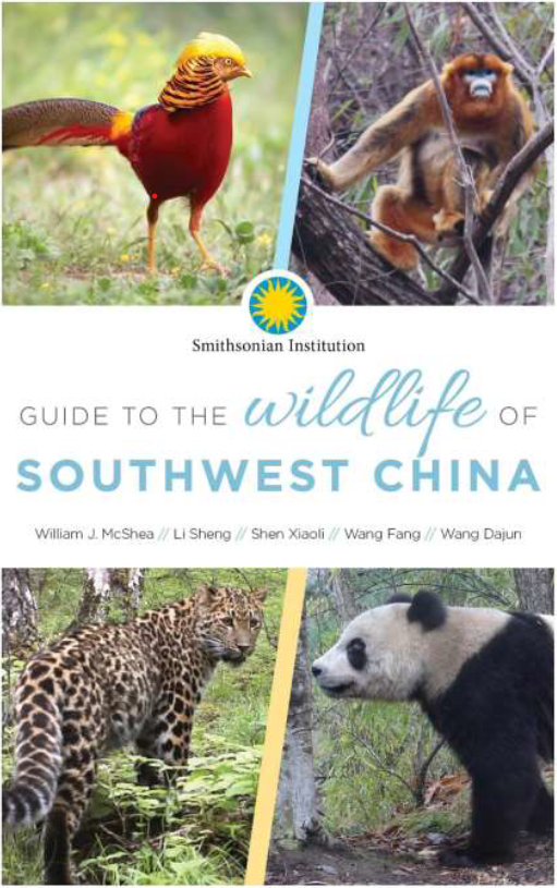 Front Cover of Book: Guide to the Wildlife of Southwest China