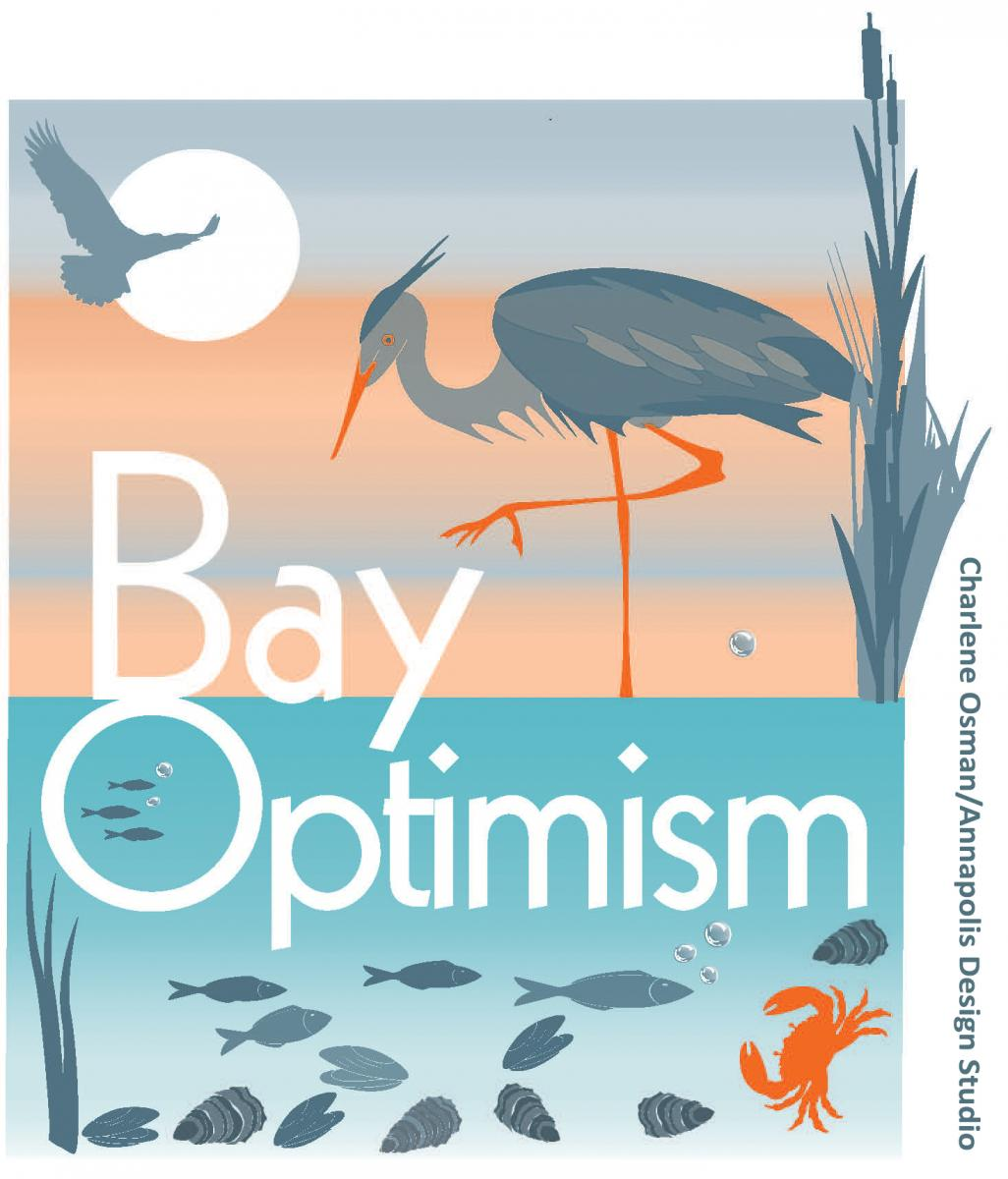 Bay Optimism Logo, by Charlene Osman, Annapolis Design Studio