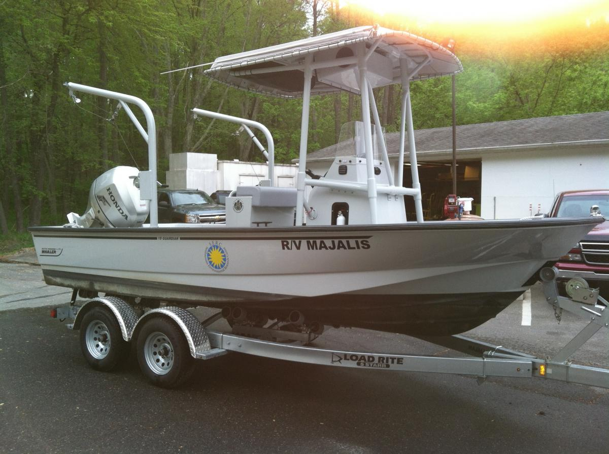 Research vessel Majalis (Boston whaler)