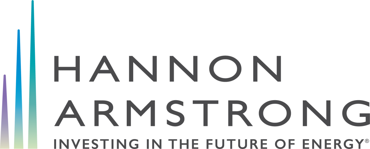 Hannon Armstrong Logo:  Investing in the future of energy