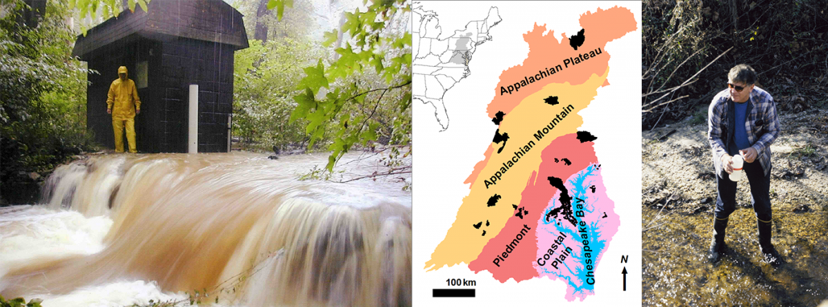 study watersheds and sampling methods