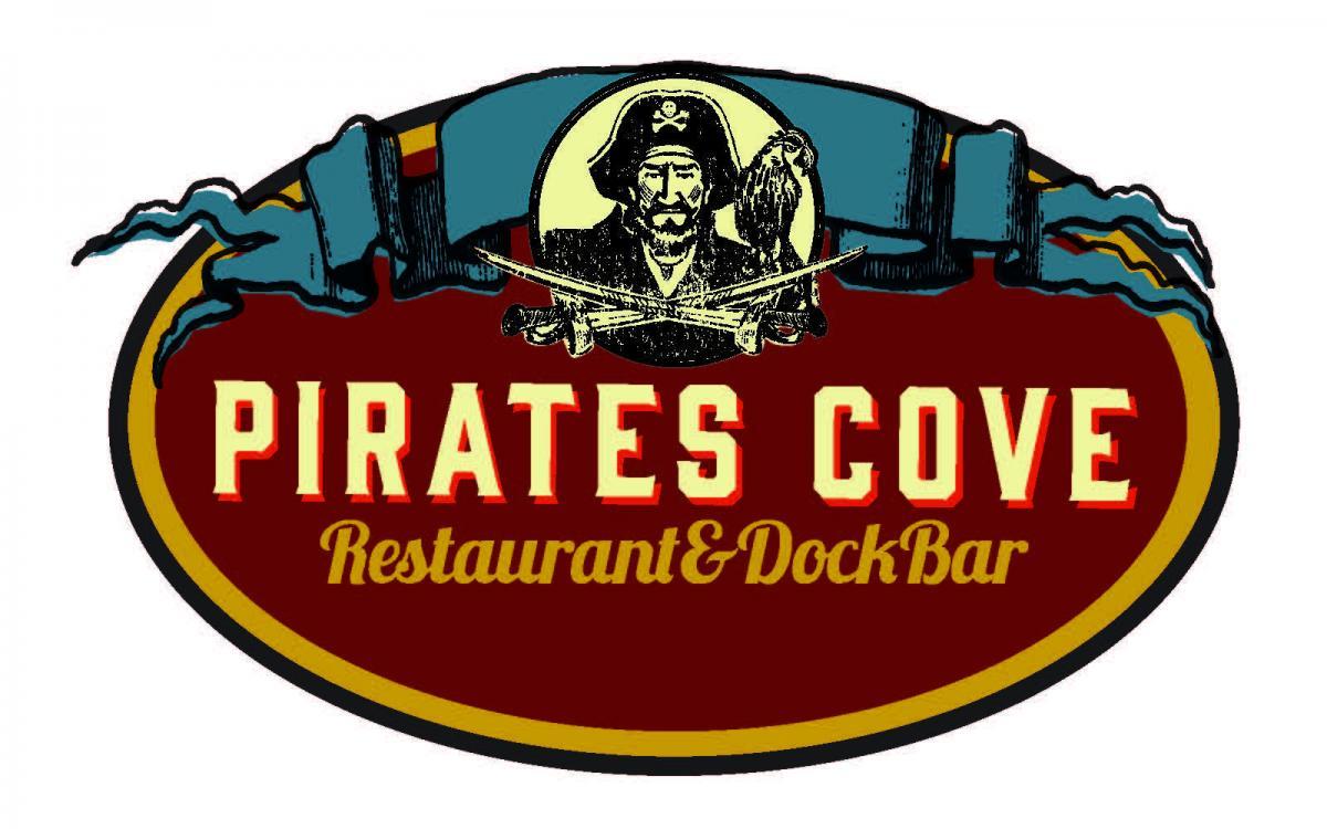 Pirates Cove Restaurant & Dock Bar logo