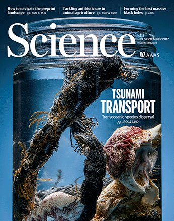 Cover of Science Sept 2017