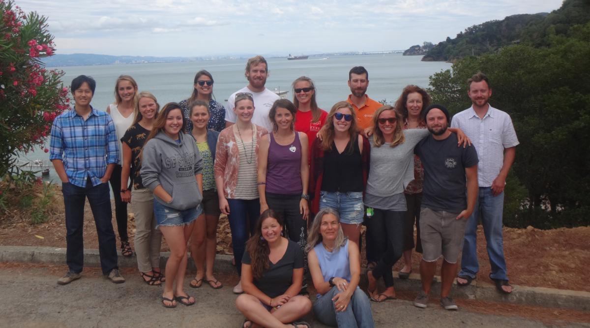 tiburon lab staff the summer of 2015