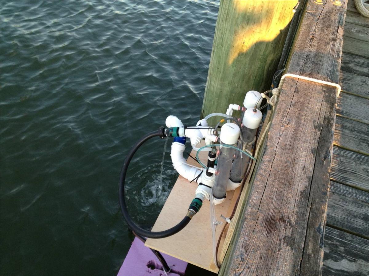 equilibrator at SERC dock