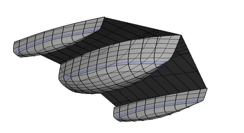 SMART-E boat design