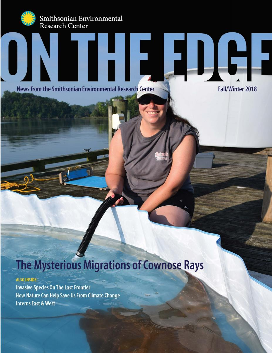 Front Cover of Fall 2018/Winter 2019 On The Edge Newsletter