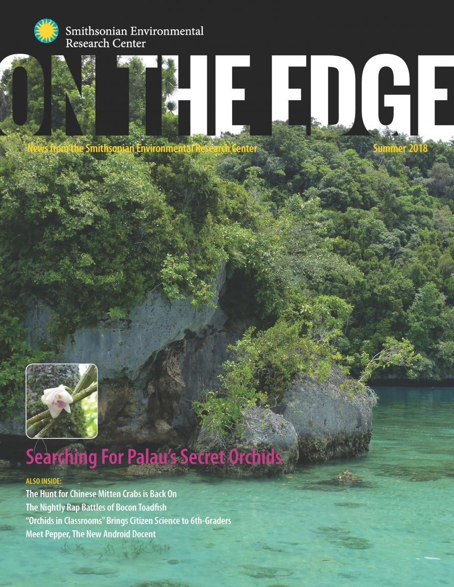 Front Cover of Summer 2018 On The Edge