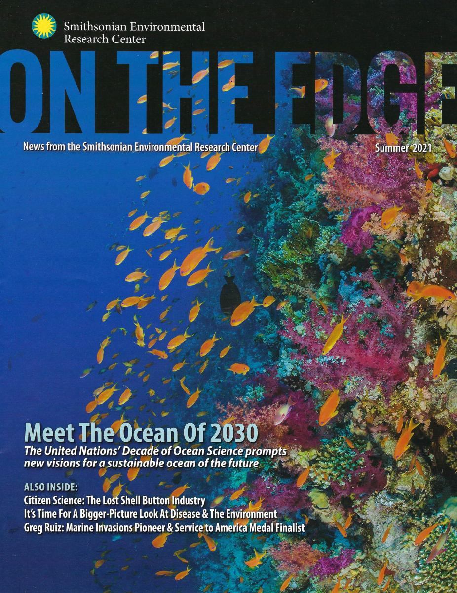 Front Cover of Summer 2021 On The Edge Newsletter