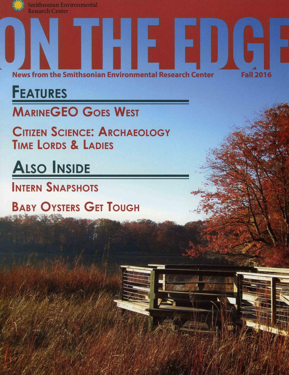 Front Cover of Fall 2016 On The Edge Newsletter