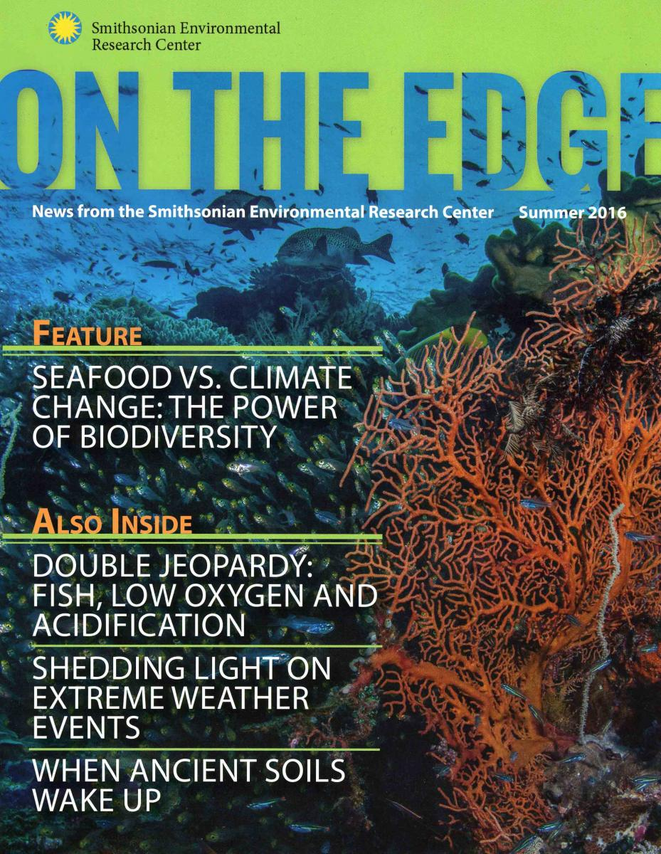 Front Cover of Summer 2016 On The Edge Newsletter