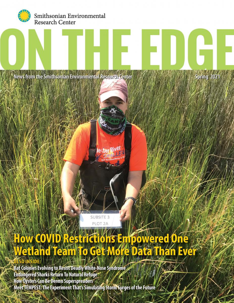 Front Cover of On The Edge Spring 2021