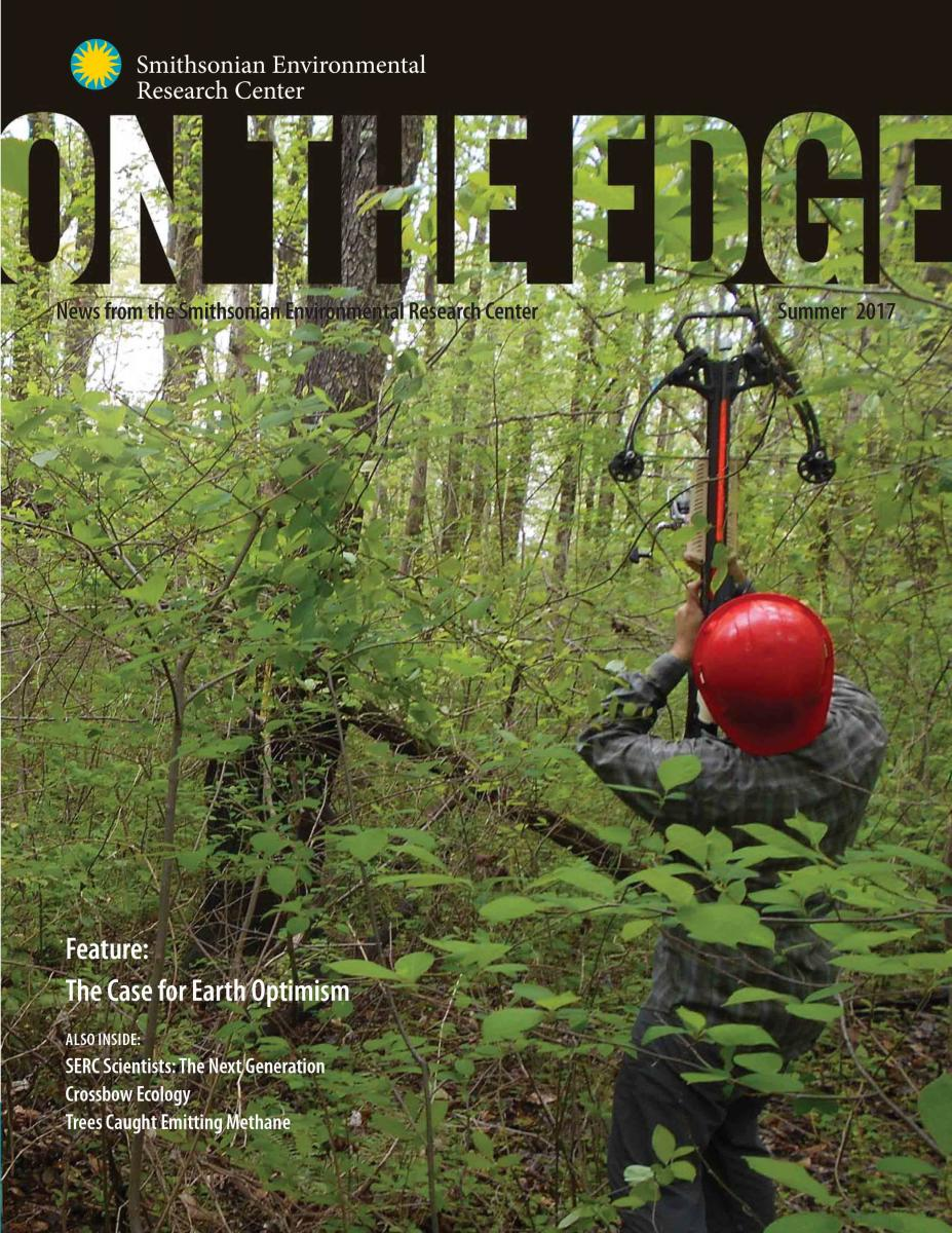 Front Cover of 2017 On The Edge newsletter