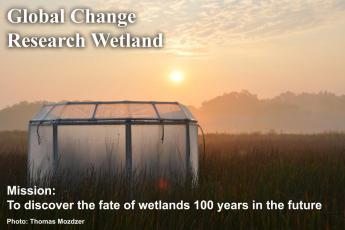 Global Change Research Wetland chamber