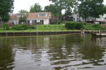 Bulkhead in the Chesapeake Bay