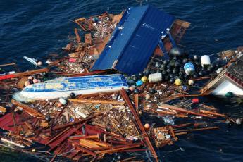 Tsunami debris from 2011
