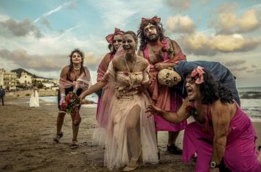 A Zombie wedding
