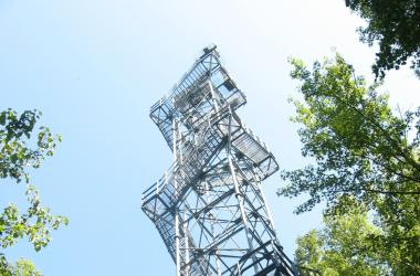 SERC Meteorological Tower (Credit: SERC)