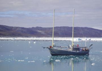 Photo of a sailboat