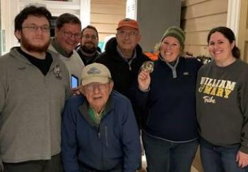 volunteers helping with project owlnet