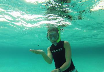 Erica Staaterman underwater
