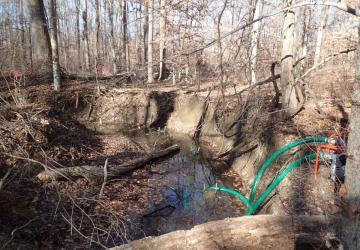 Degraded stream