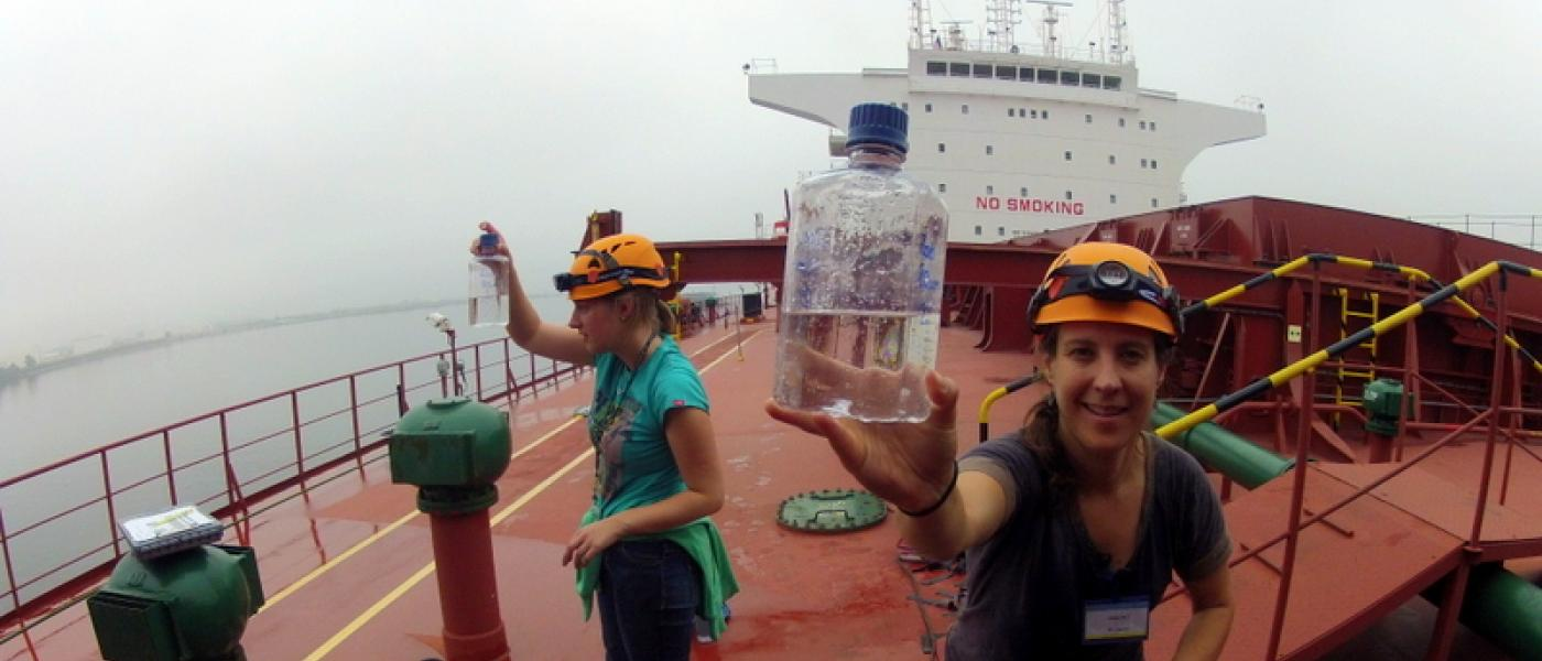 Ballast water sampling, Alaska
