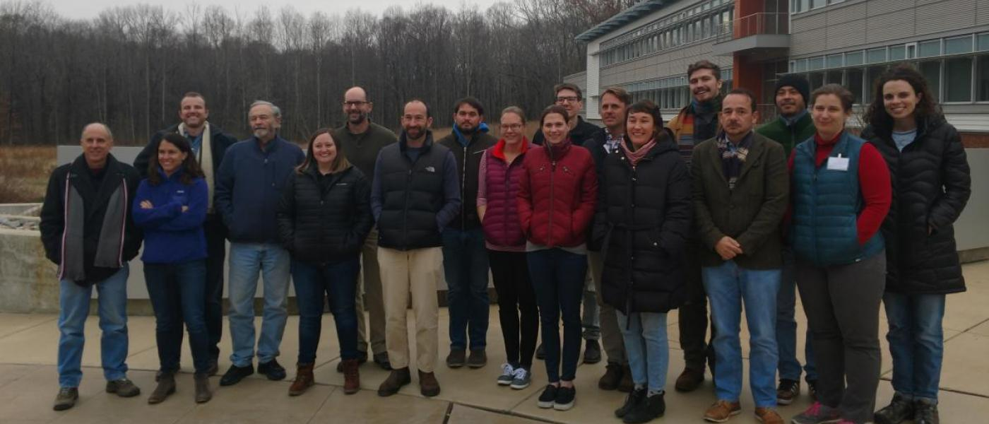 The CCRCN Soil Carbon Working Group, December 2018 at SERC.