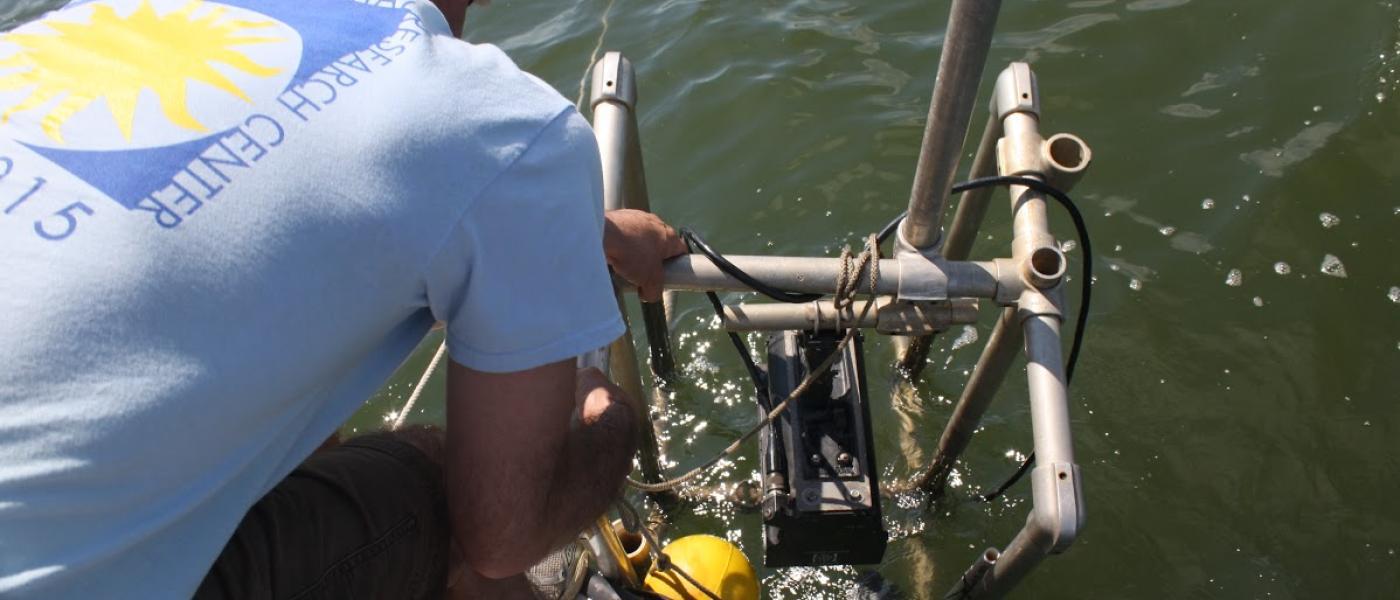 DIDSON sonar deployment