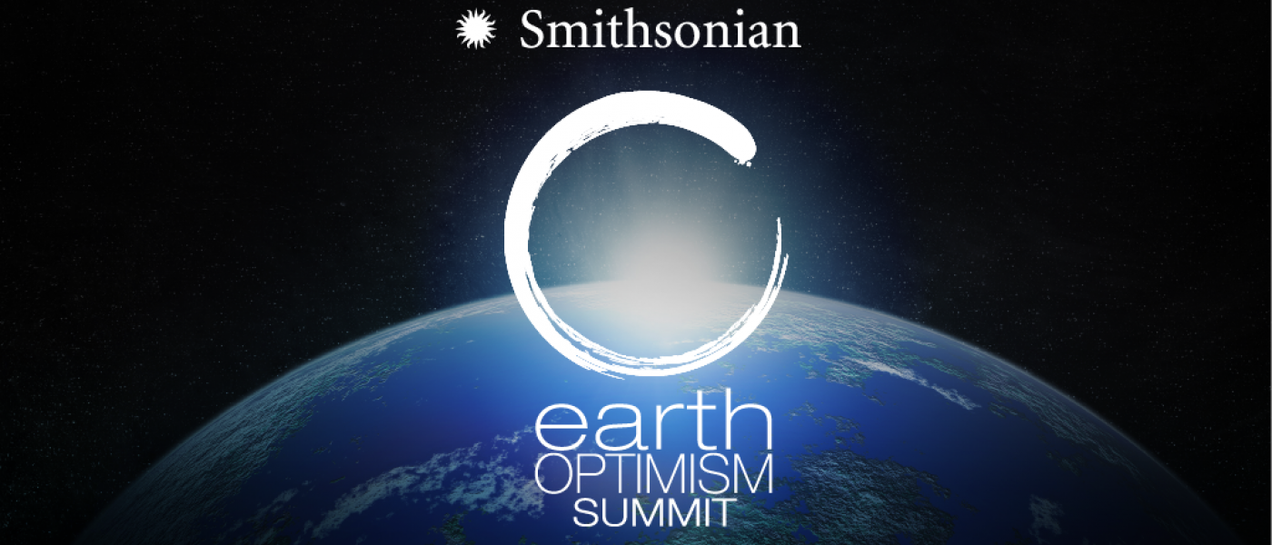 Earth Optimism Summit: Planet Earth poster