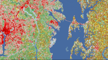 national land cover data
