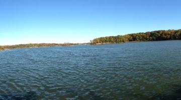 Fall at SERC dock