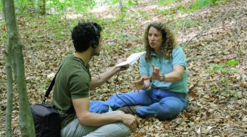 Melissa Mccormick talks about orchids with NPR's Sabri Ben-Achour