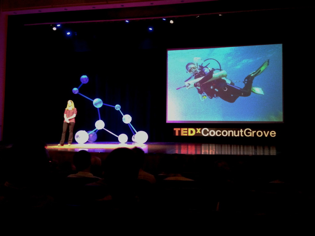 giving a TEDx talk